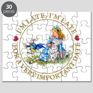 Alice I'm late_MARAJA_GOLD copy Puzzle