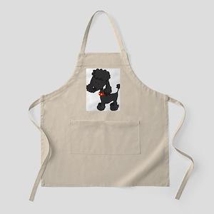 Poodle Black - Apron