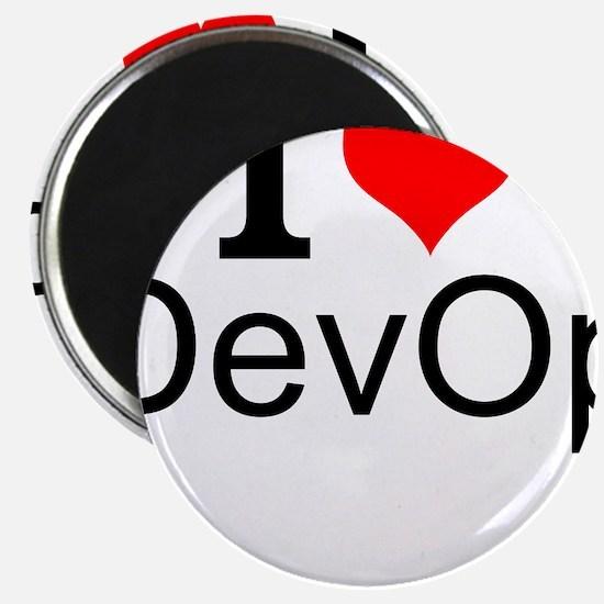 I Love DevOps Magnets