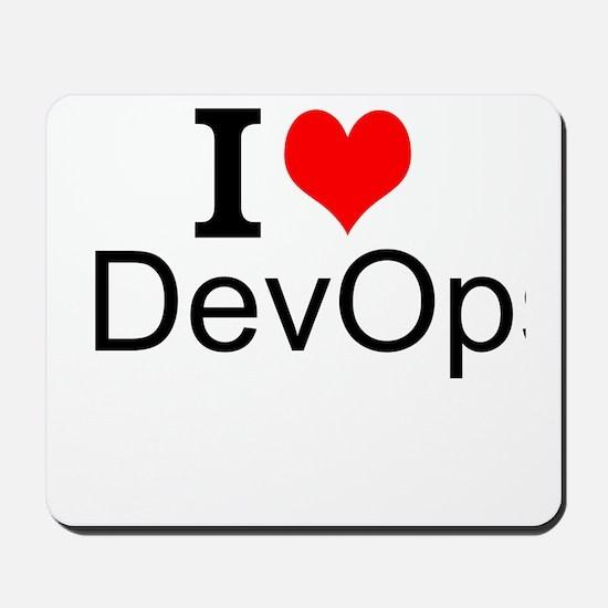 I Love DevOps Mousepad