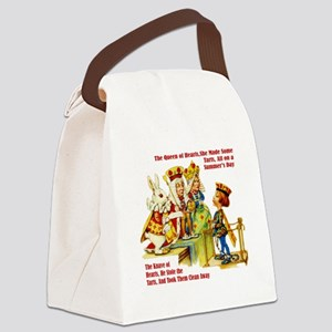 Alice_Queen_OF_HEARTS Canvas Lunch Bag