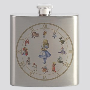 WONDERLAND_Clock Flask