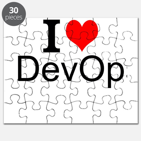 I Love DevOps Puzzle