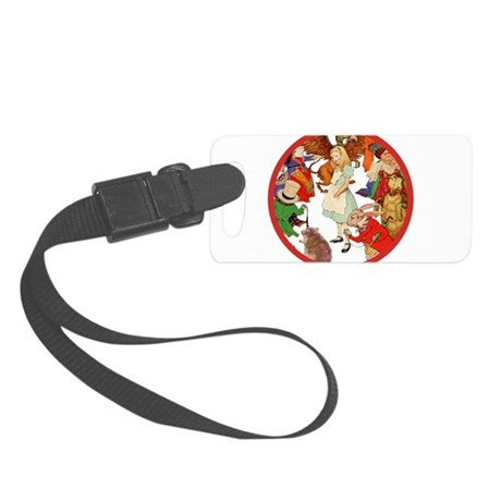 ALICE RED copy.png Small Luggage Tag
