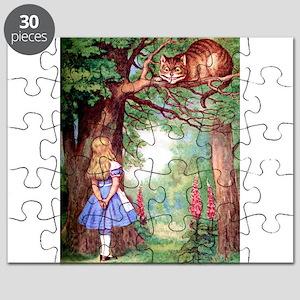ALICE_cheshire_cat_rd copy Puzzle