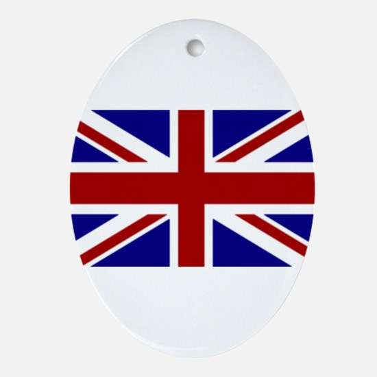 England Oval Ornament