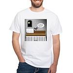 Bat Phone White T-Shirt