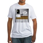 Bat Phone Fitted T-Shirt