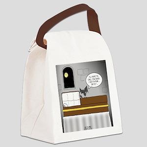 Bat Phone Canvas Lunch Bag