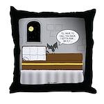 Bat Phone Throw Pillow