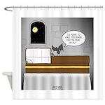 Bat Phone Shower Curtain
