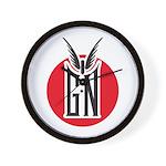 GN_Logo_2 Wall Clock