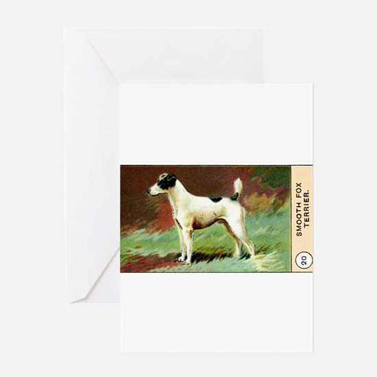 Antique 1908 Smooth Fox Terrier Dog Cigarette Card
