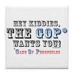 Kiddies, the GOP Wants You Tile Coaster