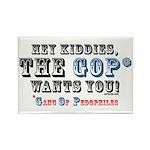 GOP=Gang of Pedophiles Rectangle Magnet (100 pack)