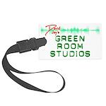 Green Room Studios Luggage Tag