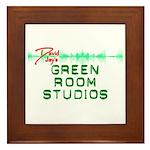 Green Room Studios Framed Tile