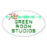 Green Room Studios Sticker