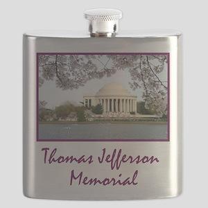 Thomas Jefferson Memorial Flask