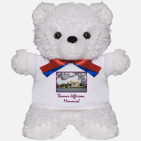 Thomas Jefferson Memorial Teddy Bear