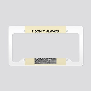 volleyball License Plate Holder