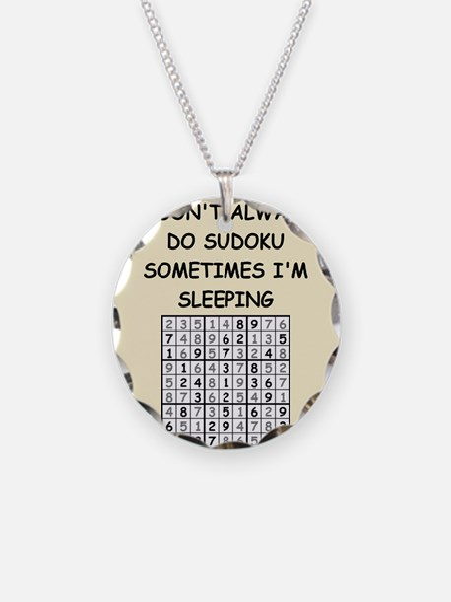 sudoku Necklace