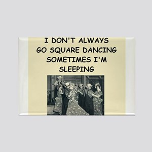 square dancing Rectangle Magnet