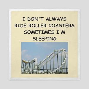 roller,coaster,amusement,park, Queen Duvet