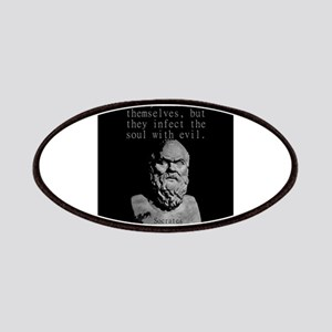 False Words Are Not Only Evil - Socrates Patch