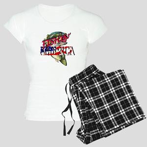Fishing america Pajamas