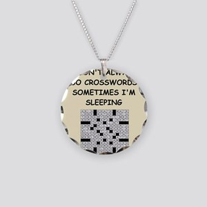 crosswords Necklace