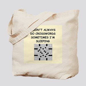 crosswords Tote Bag