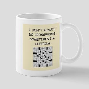 crosswords Mug