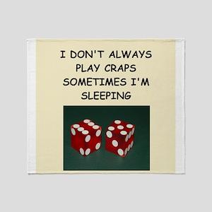 craps Throw Blanket
