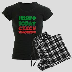 Irish Today Czech Tomorrow Pajamas