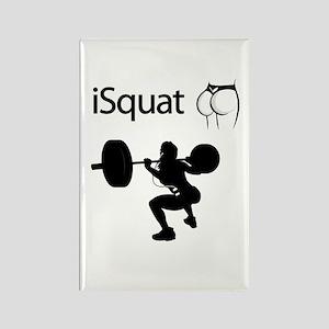 iSquat Rectangle Magnet
