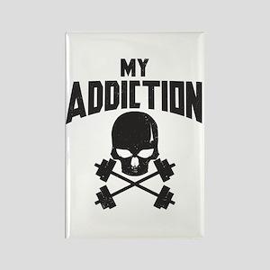 My addiction Rectangle Magnet
