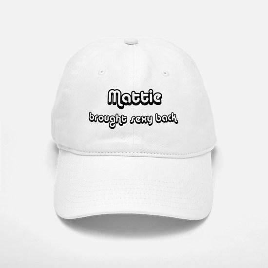 Sexy: Mattie Baseball Baseball Cap