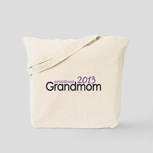 New Grandma Est 2013 Tote Bag