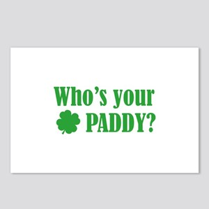 Who's Your Paddy? Postcards (Package of 8)
