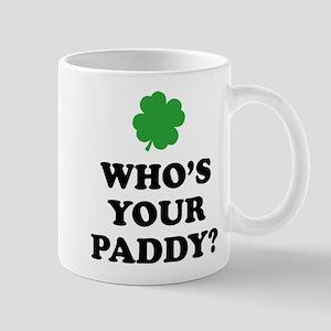 Who's Your Paddy? Mug