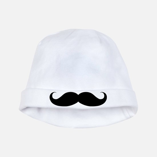 Hipster Moustache baby hat