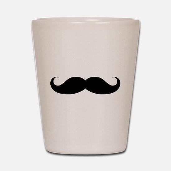 Hipster Moustache Shot Glass