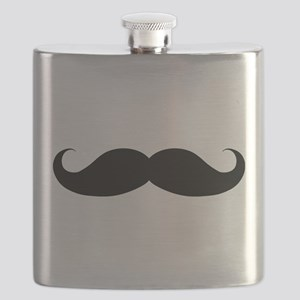 Hipster Moustache Flask