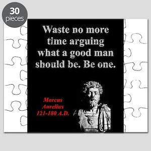 Waste No More Time - Marcus Aurelius Puzzle