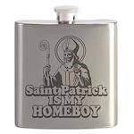 Saint Patrick is my Homeboy Flask