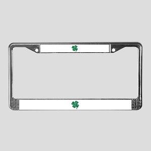 St Patrick's Shamrock License Plate Frame