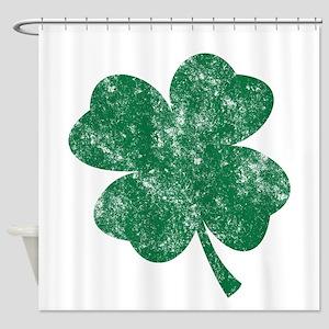 St Patrick's Shamrock Shower Curtain