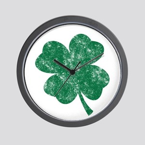 St Patrick's Shamrock Wall Clock