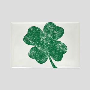 St Patrick's Shamrock Rectangle Magnet